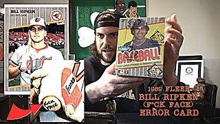 My Quest To Find A 1989 Fleer Bill Ripken (F*ck Face) Error Baseball Card | L.A. BEAST