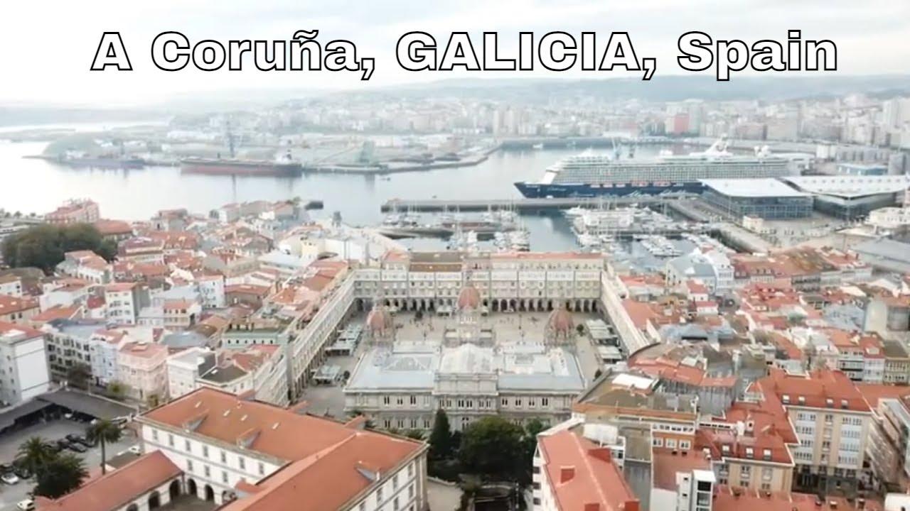 Download Drone A Coruña | GALICIA | Spain | North Atlantic Ocean | Castillo de San AntónCastillo de San Antón