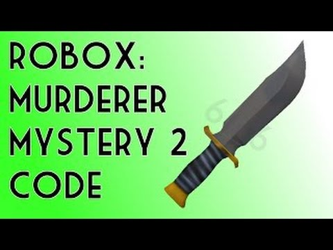 Roblox Murder Mystery 2 Codes!🔪 - YouTube