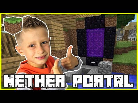 Awesome Nether Portal | Minecraft