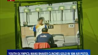 Youth Olympics: Manu Bhaker clinches gold in 10M air pistol