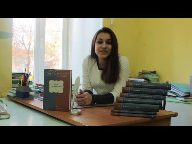 Изображение предпросмотра прочтения – АнастасияМигунова читает произведение «Женщине (Ты — женщина, ты — книга между книг…)» В.Я.Брюсова