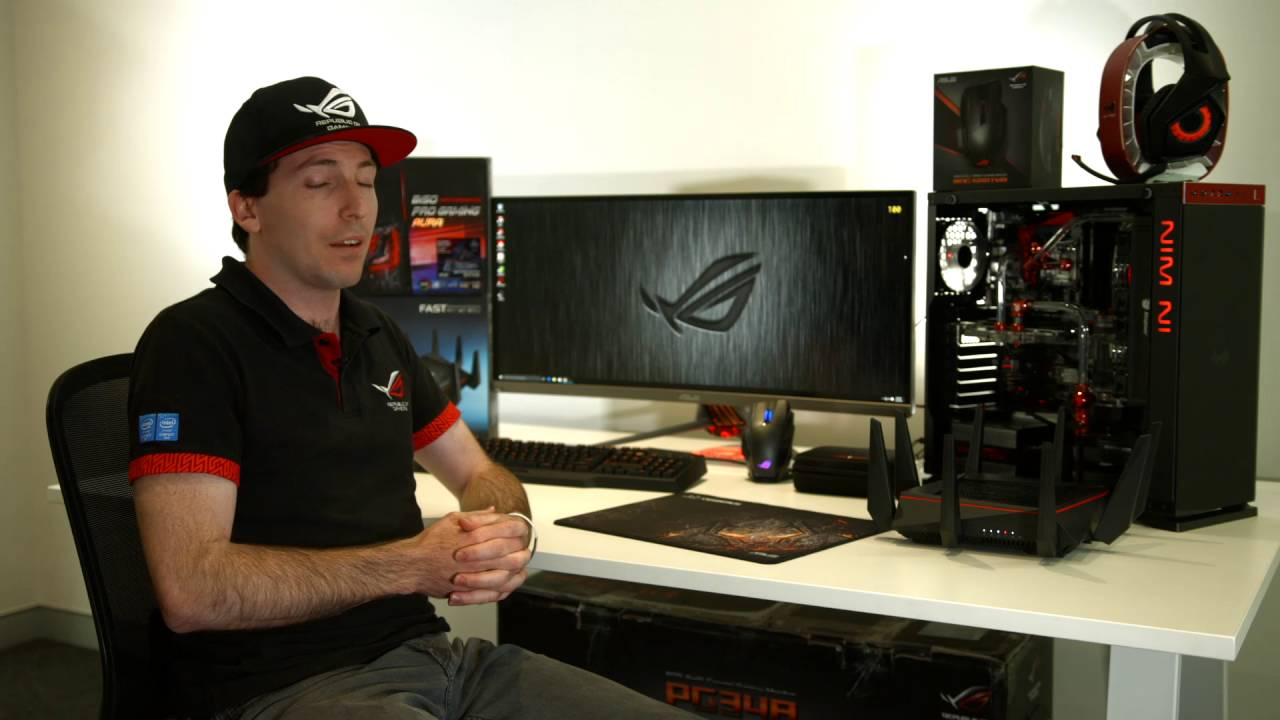 Unboxing Video Asus Monitor Pg348q Rog Swift Youtube