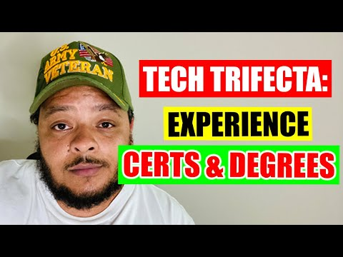 I.T. Experience, Certs or Degrees