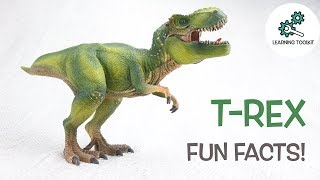 T-REX FACTS! |Fun & Educational | Dinosaurs For Kids | Best Dinosaur Facts