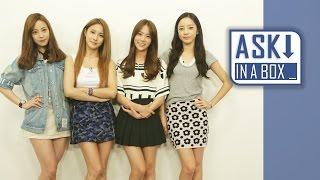 ASK IN A BOX: KARA(카라) _ Mamma Mia(맘마미아) [ENG/JPN/CHN SUB] *E...