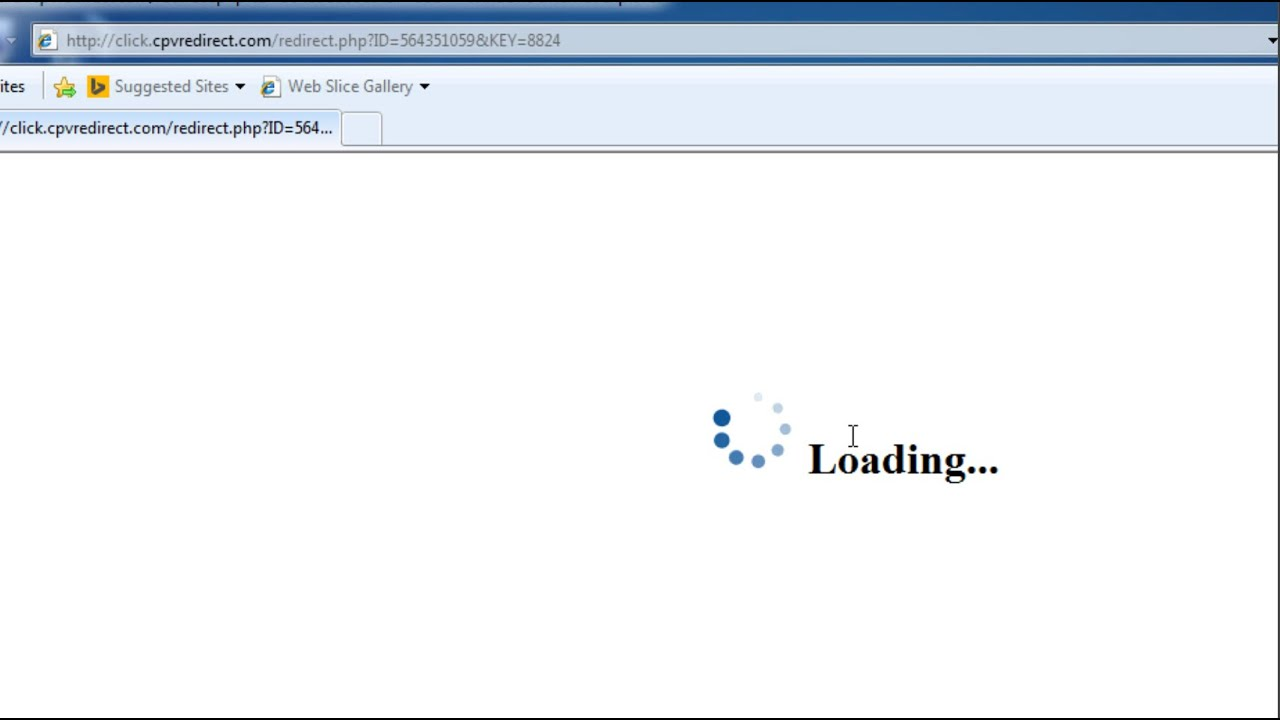 How to remove click http://click.cpvredirect.com/redirect ...