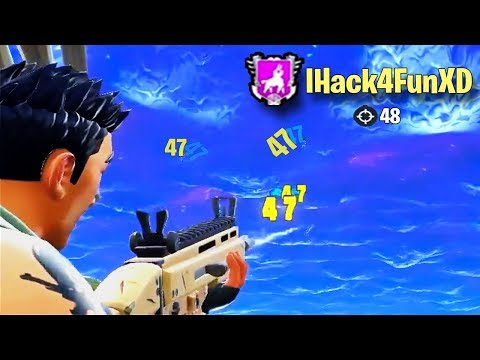 ULTIMATE Fortnite HACKER Compilation!