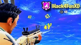 The most ridiculous, rage inducing, and funniest hacker moments in fortnite! It can be pretty frustrating when you're the one getting lasered by someone cheating ...