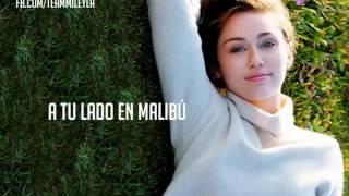 Miley Cyrus-Malibú  (Subtitulos en español)