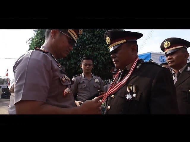 Wisuda Purna Bakti serta Perayaan Ultah Anggota Polres Kebumen