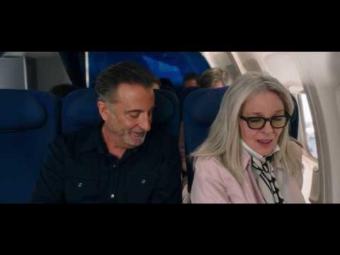 Andy Garcia & Diane Keaton  Book Club Movie s  Meeting On A Jet Plane