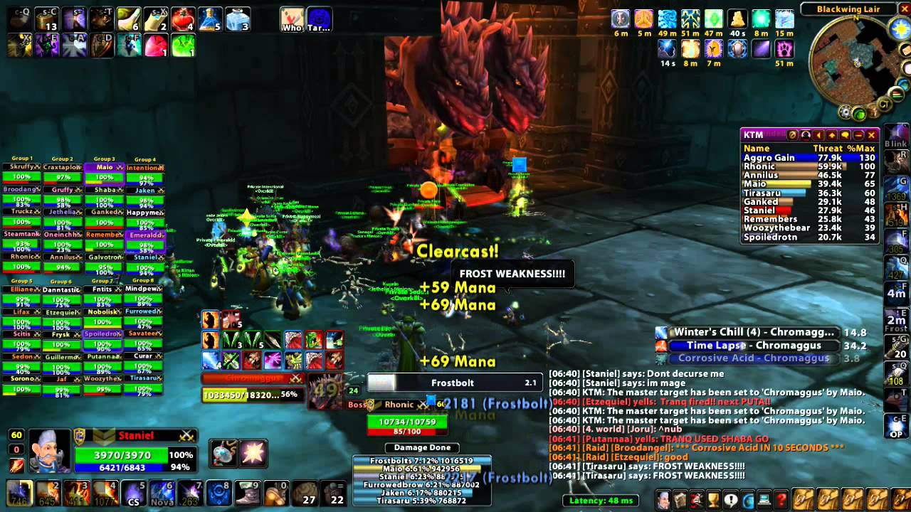 The Death of Chromaggus - VG - Guild: Overkill