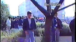 ATENTAT NA TUĐMANA U BENKOVCU, 18  III  1990  snimio Robert Knežević