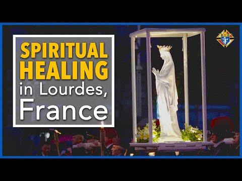Spiritual Healing In Lourdes, France