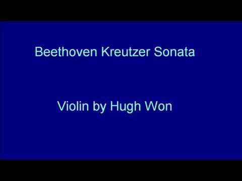 Hugh plays Beethoven Kreutzer Sonata (FULL)