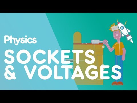 Sockets & Voltages in Different Countries | Electricity | Physics for All | FuseSchool