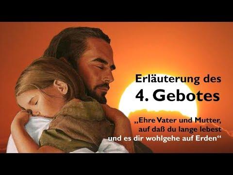4. GEBOT ❤️ EHRE VATER & MUTTER, AUF DASS DU LANGE LEBEST & ES... ❤️ Geistige Sonne Jakob Lorber
