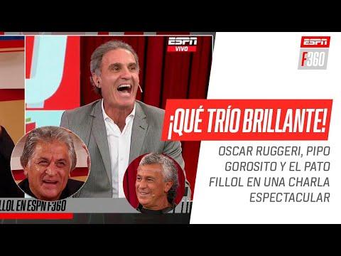 ¡Desopilante charla! #Ruggeri, #Gorosito y #Fillol, tentados con anécdotas imperdibles - ESPN Fans