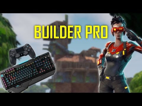 "Build Like A PC Player On Console - Trying Out New ""Pro Builder"" Controls (Fortnite Battle Royale)"