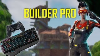 """Build Like A PC Player On Console - Trying Out New """"Pro Builder"""" Controls (Fortnite Battle Royale)"""