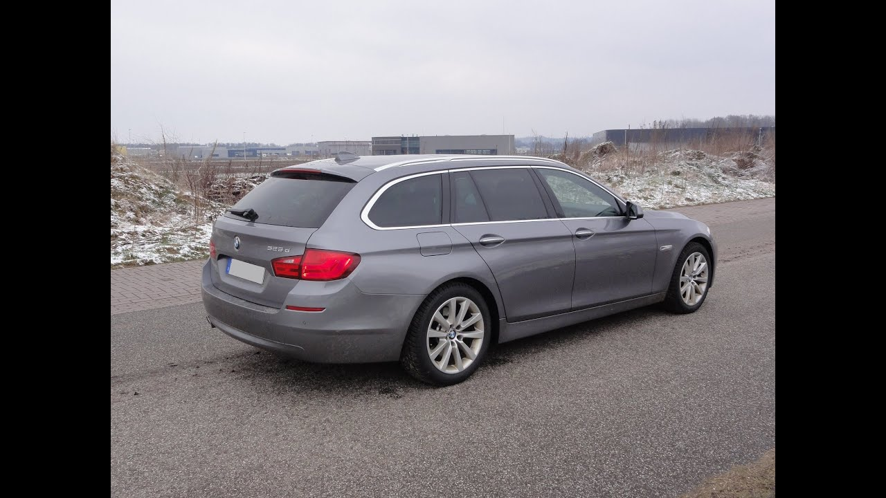2012 Bmw 525d Xdrive Touring Walkaround Youtube