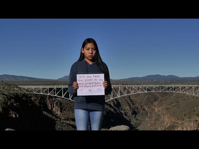 Suicide Prevention PSA by Taos Pueblo Youth