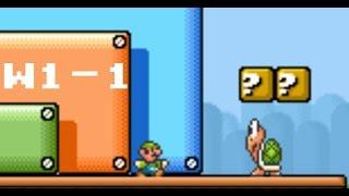 Super Mario Bros 3 GBA: Luigi's physics W1-1 speedrun in 15.366 (922 frames) or 14 IGT.