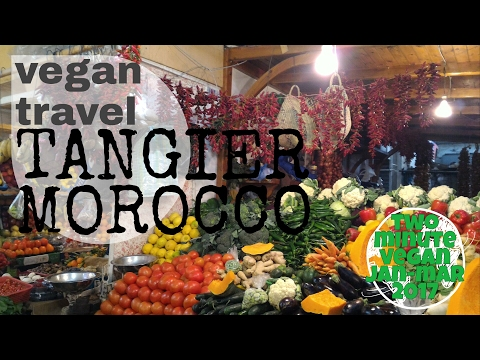 Vegan travel Morocco - 2 minute vegan