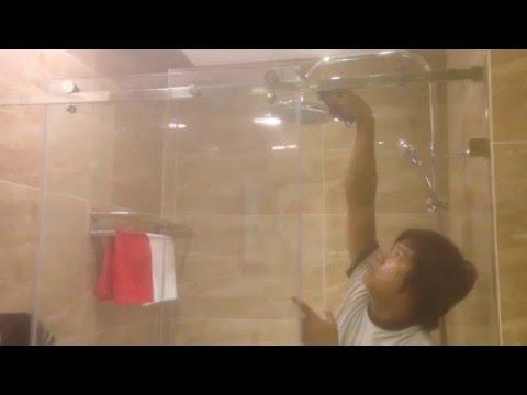Phòng tắm kính - Lắp đặt phòng tắm kính cửa lùa