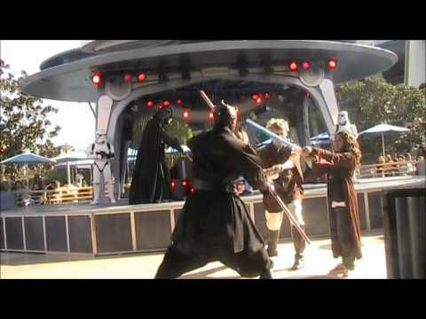 Star Wars Jedi Training Academy Disneyland
