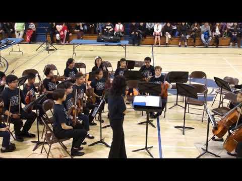 Orangeview Junior High School  2018 Winter Concert