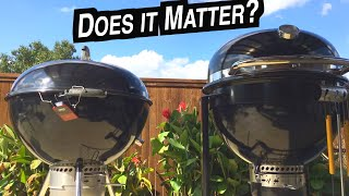 Pulled Pork Throwdown Weber Summit Charcoal Grill vs Slow N Sear 27 kettle  How to smoke Center