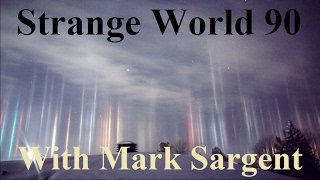 Flat Earth talk with Daphne Rimmel on Strangeworld - SW90 - Mark Sargent ✅