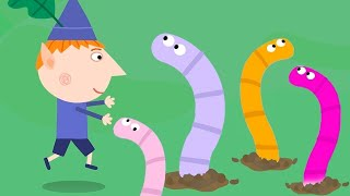 Ben and Holly's Little Kingdom | Worm Hunting | 1Hour | Kids Videos