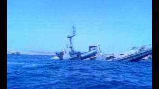 Patrol Boat Sinking