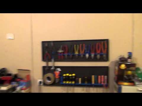видео: Полка органайзер для инструмента. Часть 2. Установка.