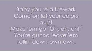 [LYRICS] Katy Perry- Firework [LYRICS]