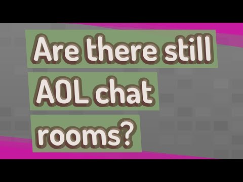 Are There Still AOL Chat Rooms?