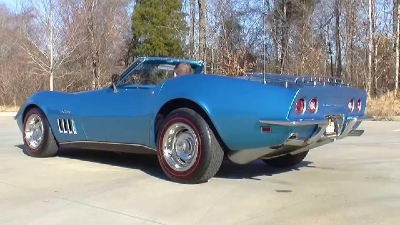 1969 Corvette Stingray >> 135052 / 1969 Chevrolet Corvette Stingray - YouTube