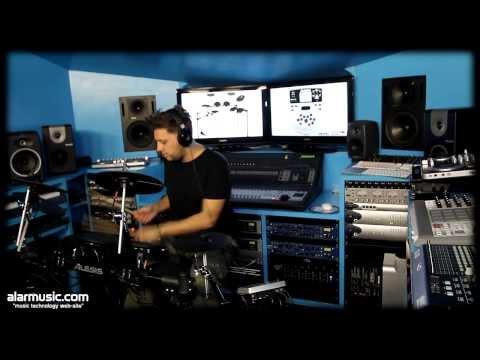 Alesis DM7X batteria elettronica a pad demo by Nick Lamberti