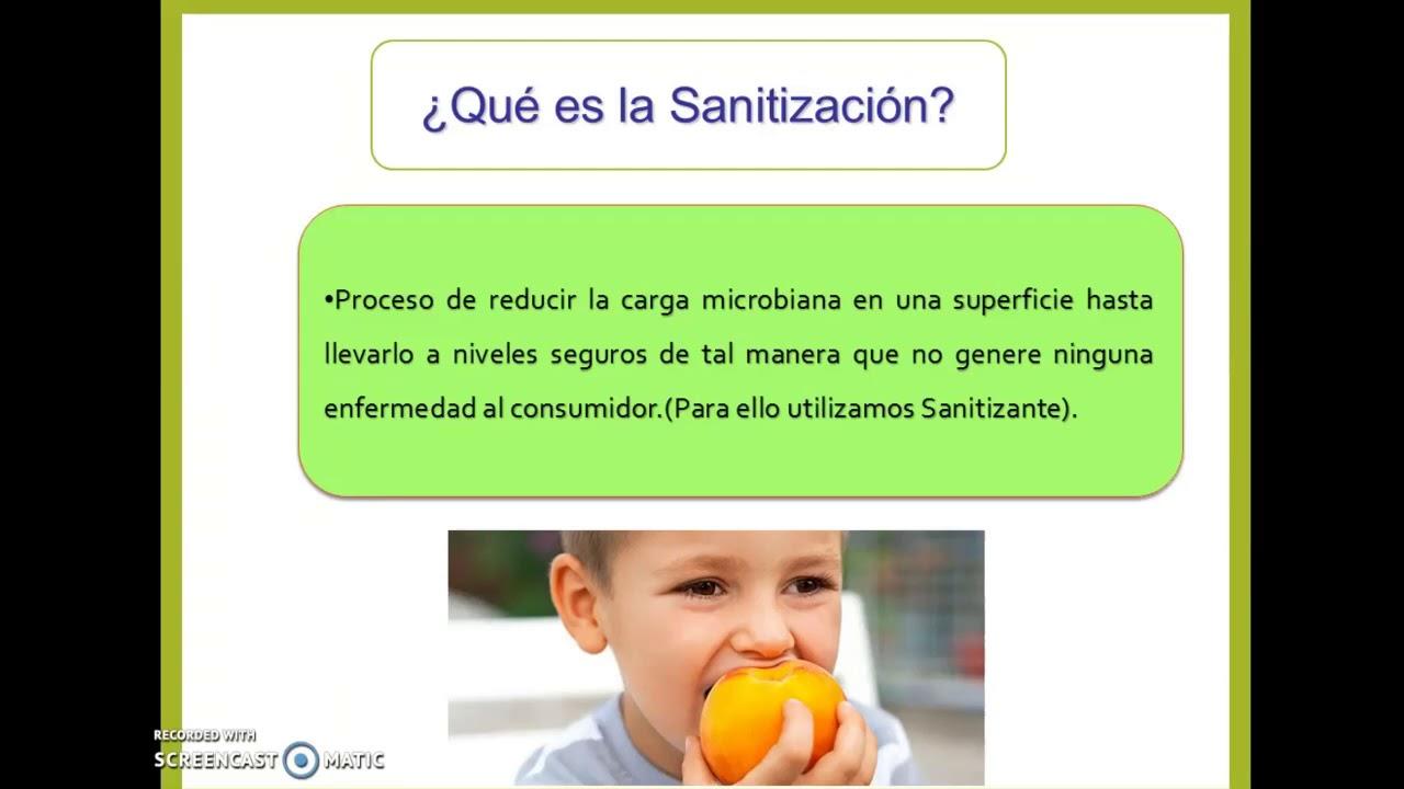 Limpieza y desinfecci n en la industria de alimentos youtube for Limpieza y desinfeccion de alimentos