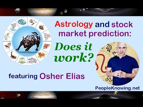 Astrology and Stock Market Prediction: Does it Work? Featuring Osher Elias // 2017 stocks predicting