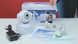 medisana smart baby monitor babyphone im praxistest medisana smart baby monitor video review