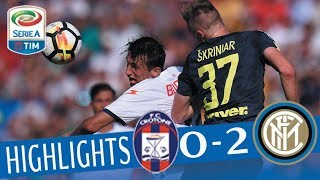 Crotone - Inter 0-2 - Highlights - Giornata 4 - Serie A TIM 2017/18