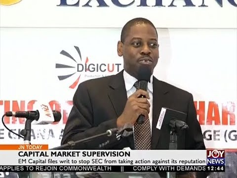 Capital Market Supervision - Joy Business Today (23-5-18)