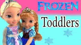 disney frozen toddler queen elsa princess anna olaf doll deluxe playset royal reflection eyes set