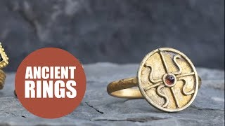 Rare ancient rings a gas fitter spent decades collecting expected to fetch up to £120,000