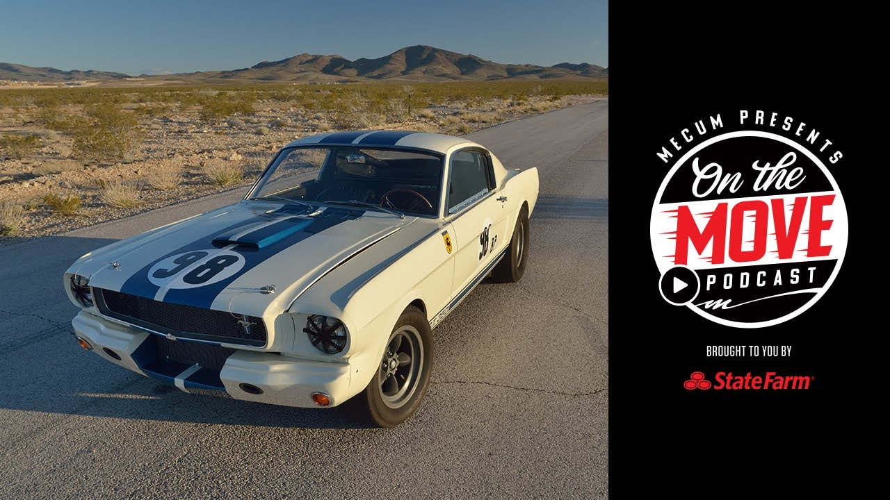 Frank Mecum & Stunning Shelby Mustangs //  On The Move // Ep. 1