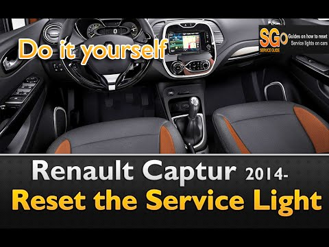 renault clio 4 reset service oil light comment faire une. Black Bedroom Furniture Sets. Home Design Ideas